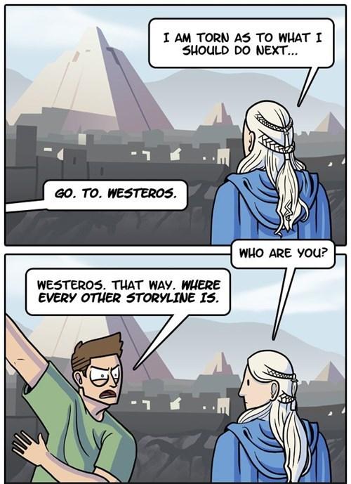 dorkly Game of Thrones season 4 web comics Daenerys Targaryen - 8183822848