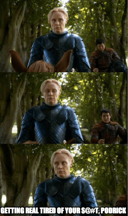 Game of Thrones season 4 brienne of tarth - 8183886336