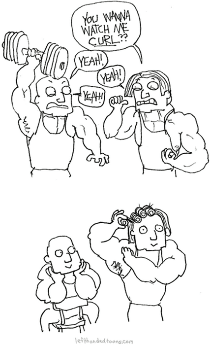 exercise puns weight lifting web comics - 8183886848