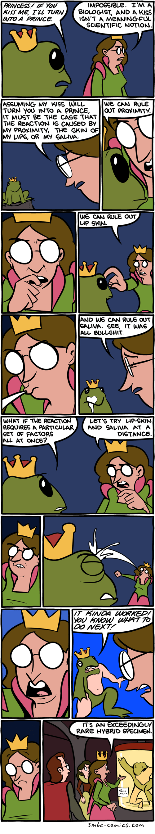 fairy tales frogs science web comics - 8184037376