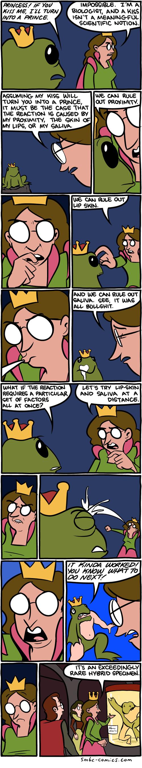 fairy tales frogs science web comics - 8184037376
