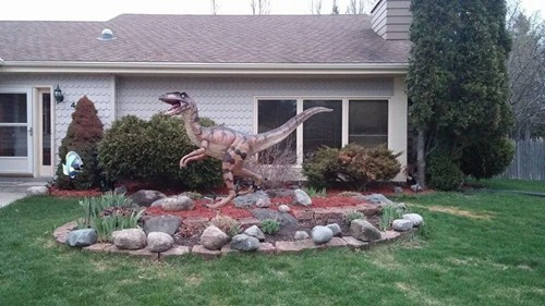 lawn dinosaurs win g rated - 8184099584