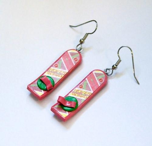hoverboard earrings etsy - 8184122624