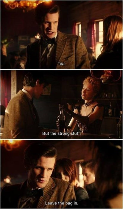 11th Doctor doctor who tea - 8184147712
