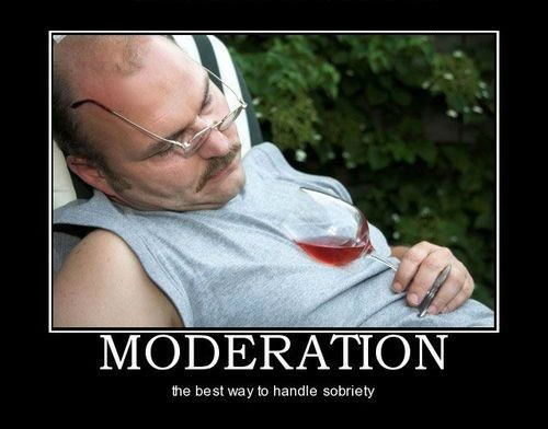 drunk good idea funny moderation