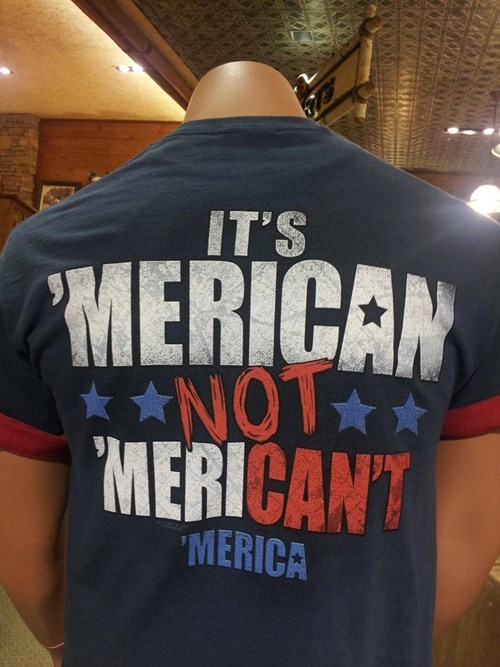 impossible t shirts merican