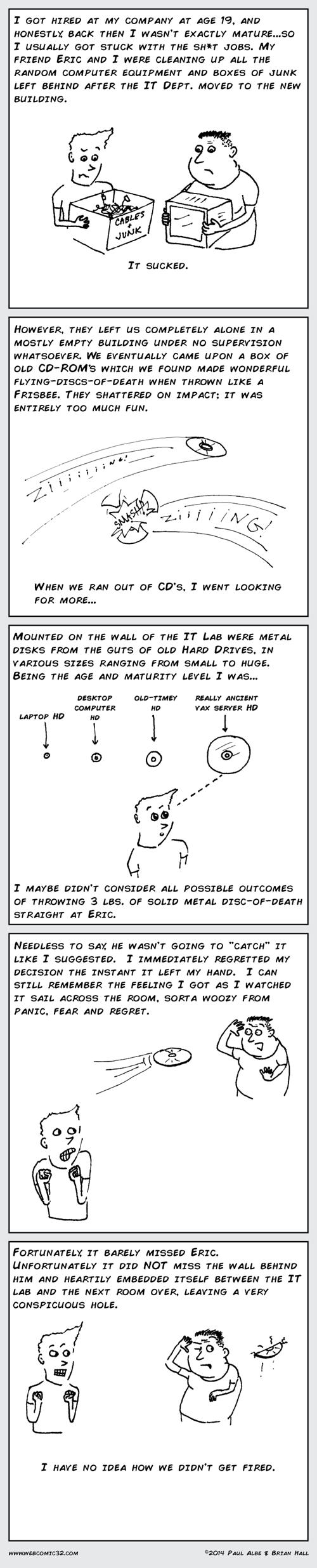 goofing off jobs yikes web comics - 8184976384