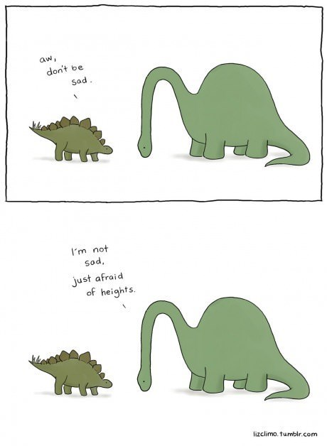 dinosaurs fear web comics - 8185070080