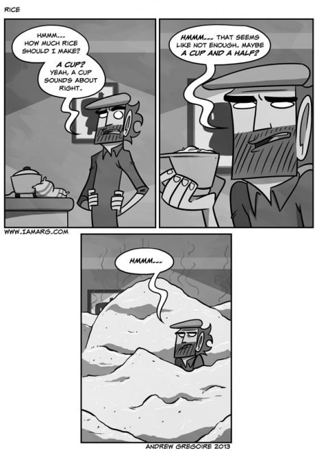cooking,rice,kitchen,ratios,web comics