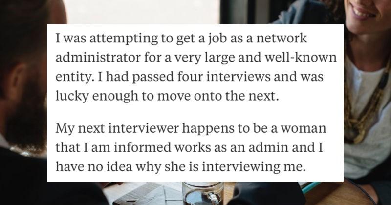 weird job interviews