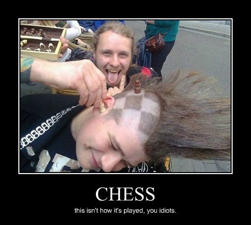 punk rock chess funny - 8185185280