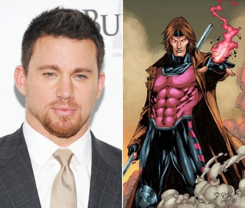 x men,gambit,channing tatum,casting news