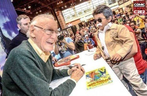 marvel,cosplay,stan lee