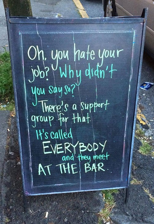 sign pub support group funny after 12 g rated - 8185230848