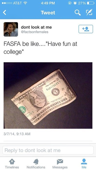 financial aid student loans fafsa college - 8185314048