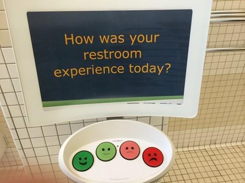 bathroom feedback monday thru friday g rated - 8185343232