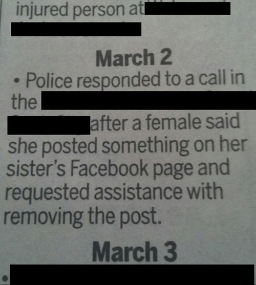 facebook,police