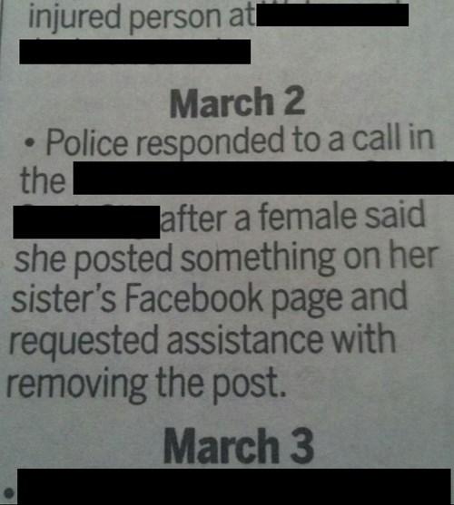 facebook police - 8185350144