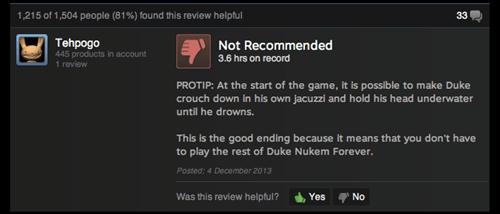 reviews steam Duke Nukem Forever - 8185357312