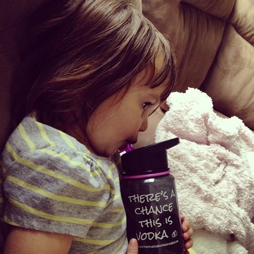 kids,water bottle,parenting,vodka