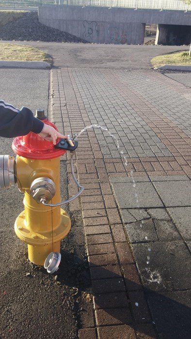 design fire hydrant hacked irl free stuff - 8185659904