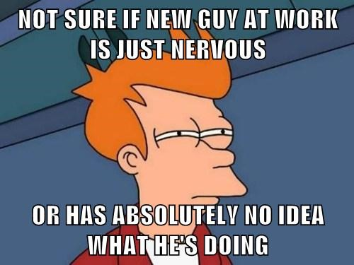 how to not be nervous with a guy
