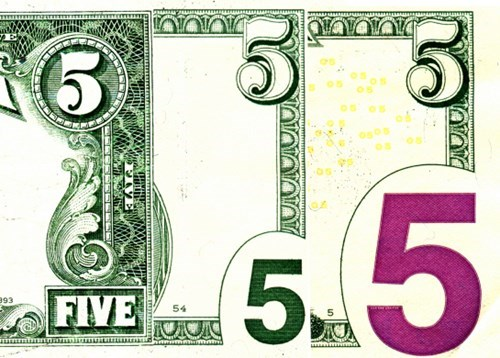 Evolution of the Five-Dollar Bill. It's Getting Dumbed Down More and More...
