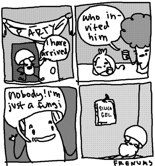 puns Party web comics Mushrooms - 8186476288