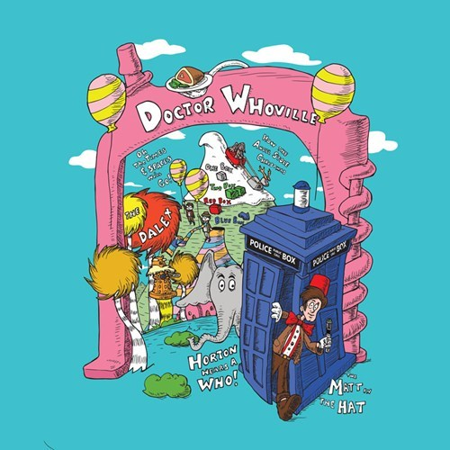 tshirts doctor who doctor seuss - 8186486272