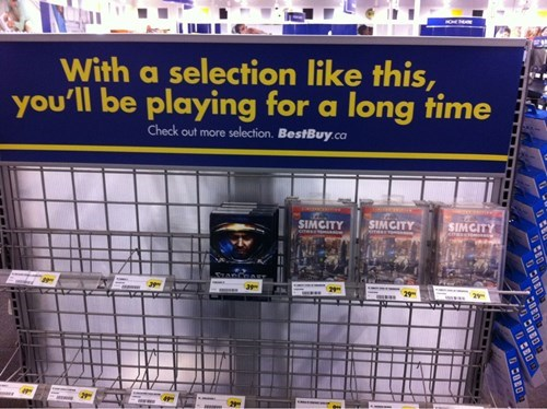 starcraft,best buy,SimCity,video games