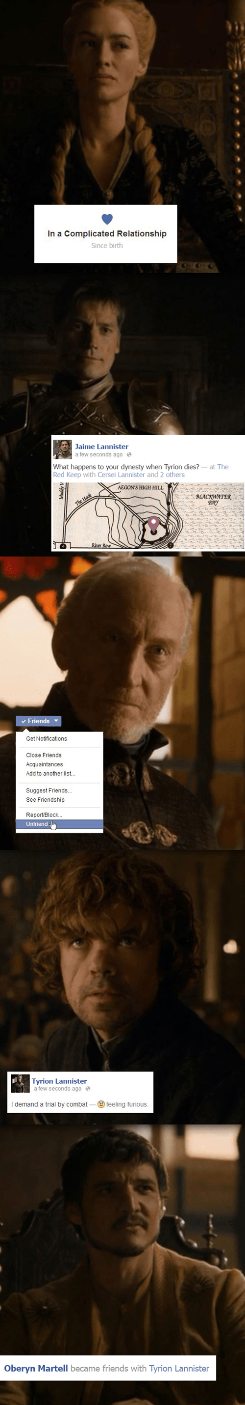 Game of Thrones,facebook,season 4