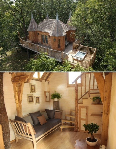 tree house hotel design - 8186659840