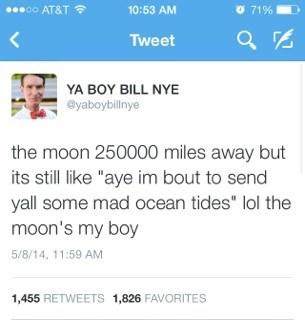 bill nye twitter Astronomy