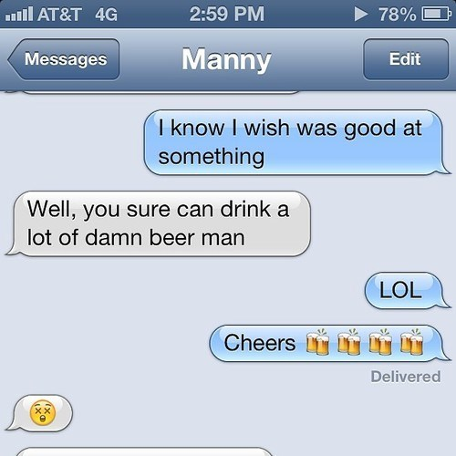 beer drinking funny - 8186671360
