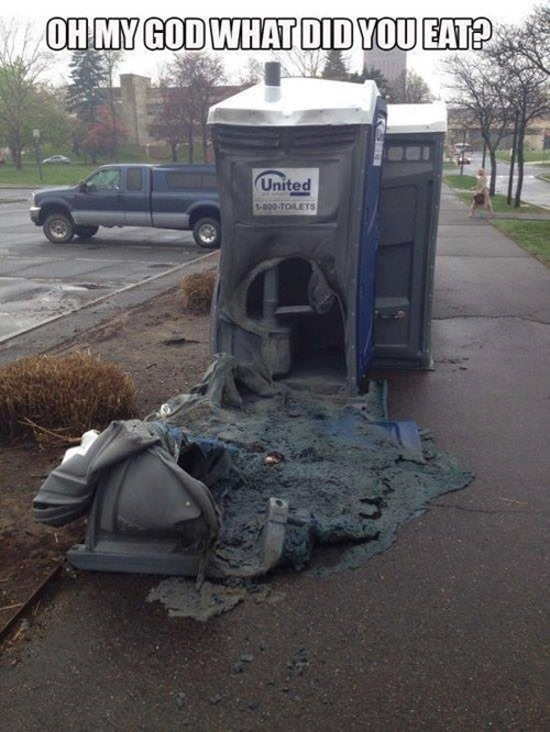 porta potty bathroom honey bucket fail nation g rated - 8186674944