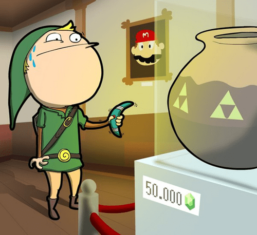 link,legend of zelda,pots,vases