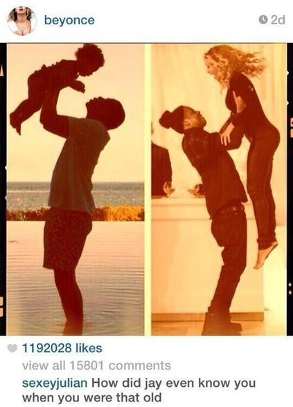 beyoncé instagram burn Jay Z - 8186690816