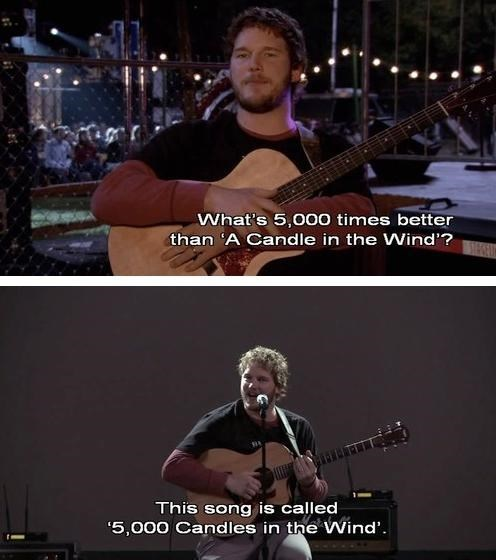 parks and recreation Music funny stupid - 8186701056