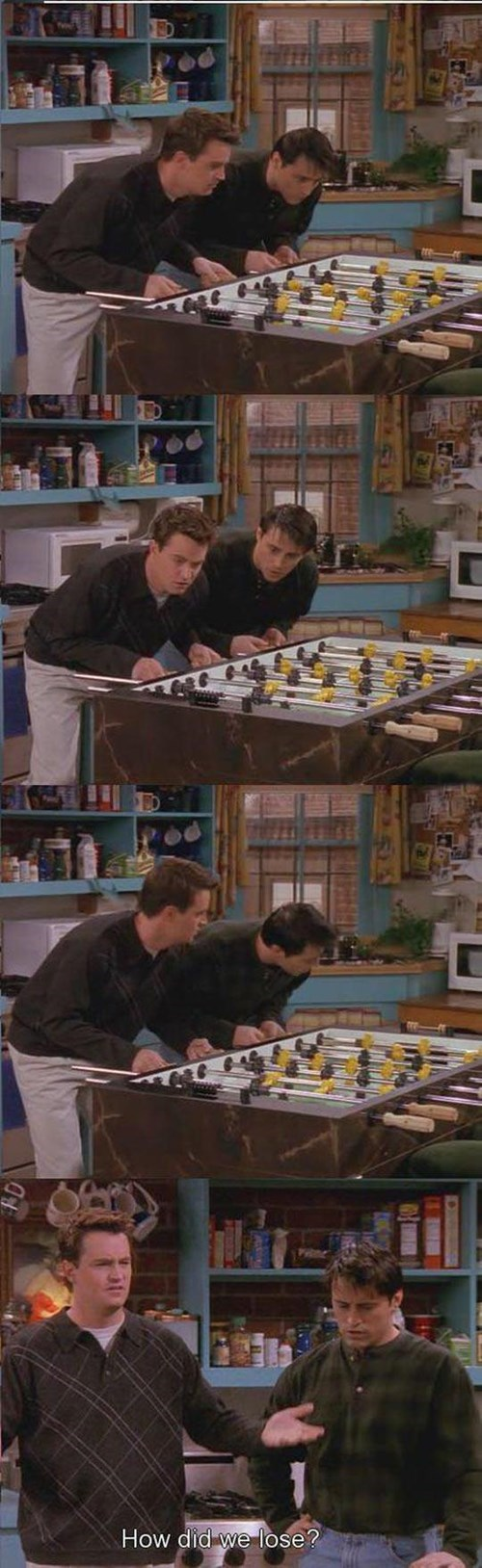 games,friends,lose,foosball