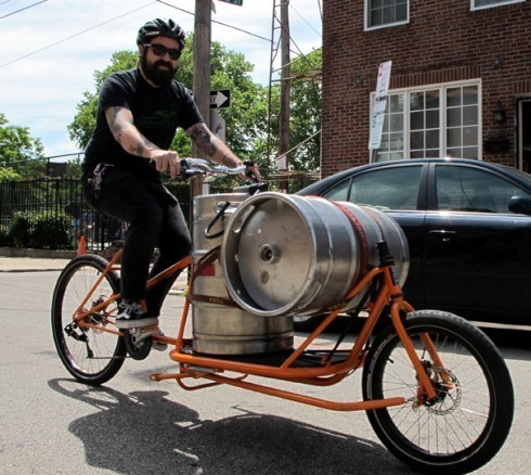 beer kegs awesome bike - 8186714112