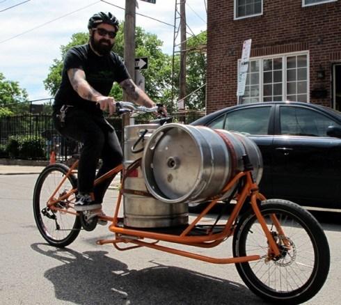 beer kegs awesome bike - 8186714112
