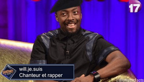 will.i.am french - 8188142080
