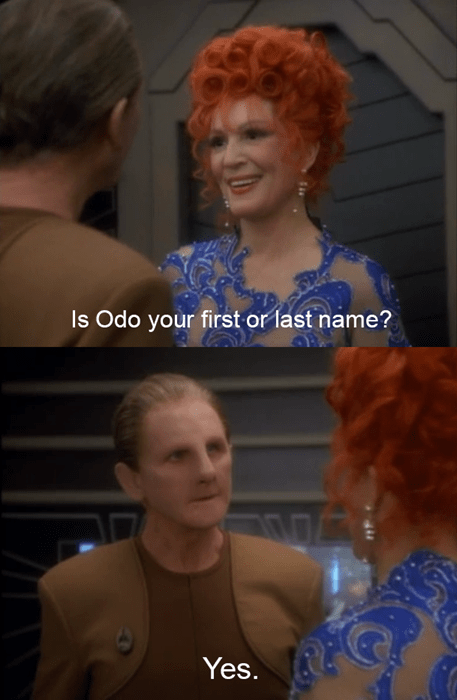 odo Star Trek ds9 - 8188187648
