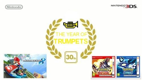 Pokémon trumpets mario kart 8 gen 3 nintendo - 8188371200