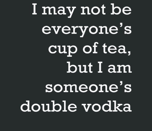 booze vodka cup of tea funny - 8188424960