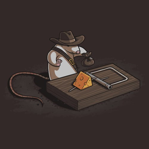 Indiana Jones tshirts mouse - 8188464384