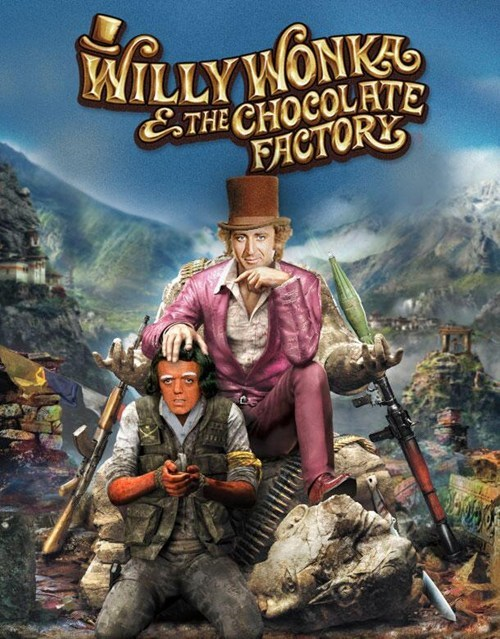 Action-adventure game - WILLYWONKEG ETHE CHOCOLATE FACTORY