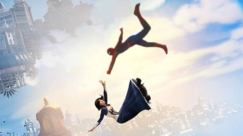 Spider-Man bioshock infinite - 8189762560
