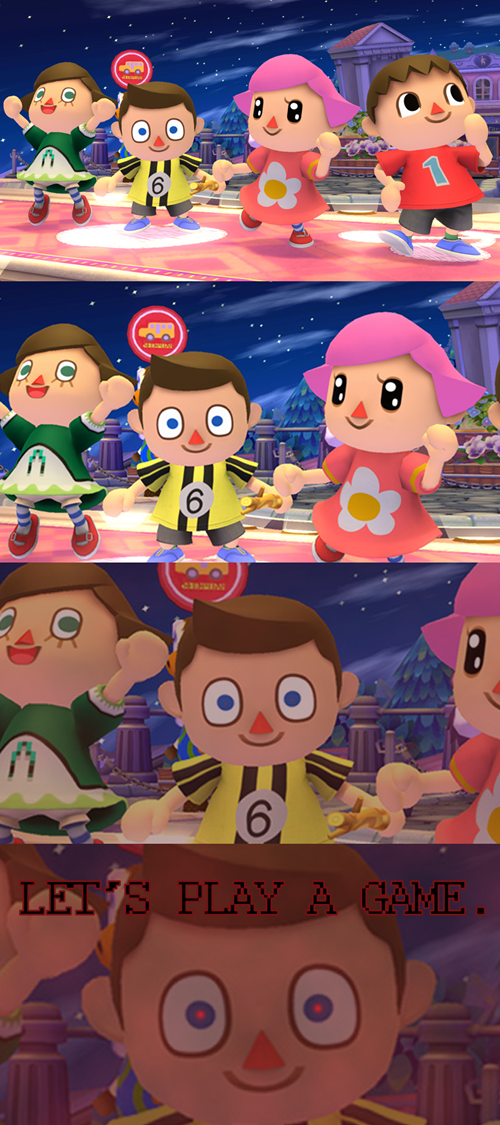villager,super smash bros,animal crossing