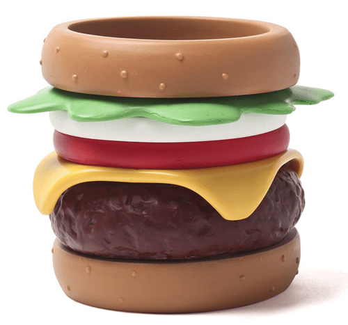 cheezburger burger poorly dressed bracelets Jewelry cheeseburger - 8189923840